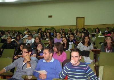 """Inauguración de las Jornadas Empresistas 2010, celebradas en la Facultad de Ciencias Económicas y Empresariales (18 de octubre de 2010) • <a style=""""font-size:0.8em;"""" href=""""http://www.flickr.com/photos/55042249@N06/5101562731/"""" target=""""_blank"""">View on Flickr</a>"""