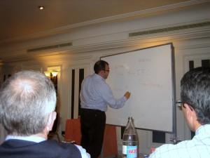 Manuel Rejón durante su ponencia