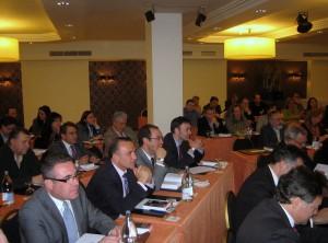 Asistentes a la primera sesión del Curso de Especialización en el Proceso Concursal