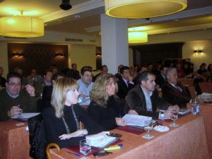 """Asistentes a la primera sesión del curso """"Iniciación en el proceso concursal"""" 15/2/2011"""