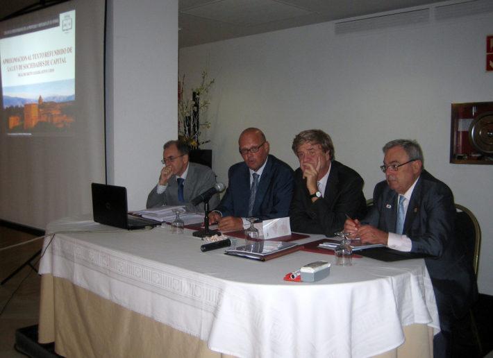 Curso de la Escuela Concursal sobre la nueva Ley de Sociedades (7 de octubre de 2010)
