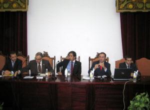 Inauguración de las Jornadas Empresistas 2010, celebradas en la Facultad de Ciencias Económicas y Empresariales (18 de octubre de 2010)
