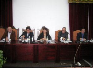 Mesa de clausura de las IX Jornadas de Empresistas (22 de octubre de 2010)