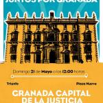 Manifestación pública «Juntos por Granada» – Domingo, 21 de mayo a las 12:00h – Desde los Jardines del Triunfo hasta Plaza Nueva