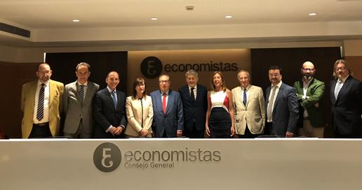 El Consejo General de Economistas nombra a Miguel Romero Sánchez nuevo Vicepresidente del REFOR